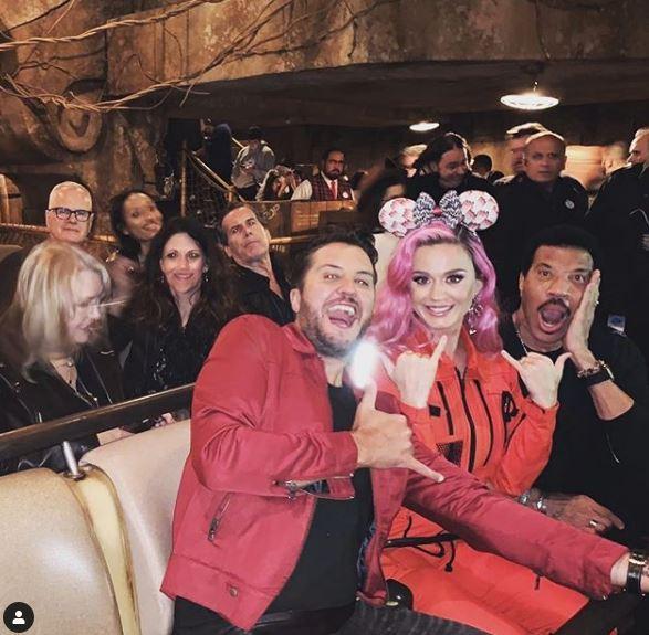 Katy Perry si trasforma nella perfida Ursula de  La Sirenetta