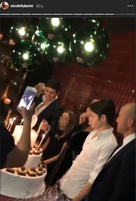 Giacomo Bettarini diventa maggiorenne, Simona Ventura e il suo ex in festa