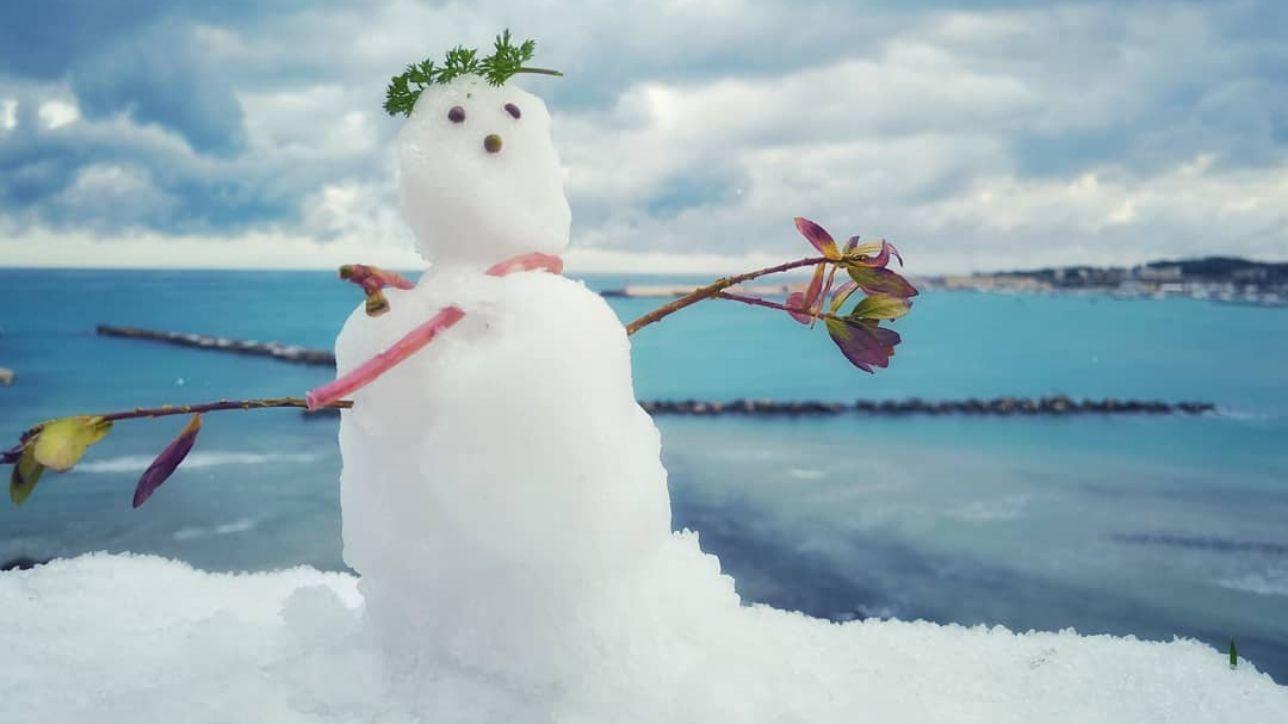 Neve Al Sud Dalla Reggia Di Caserta Ai Trulli Di