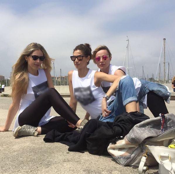 Melissa Satta, addio al nubilato con le amiche