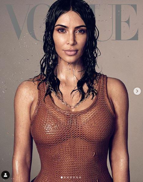 Kim Kardashian, shooting mozzafiato per  Vogue