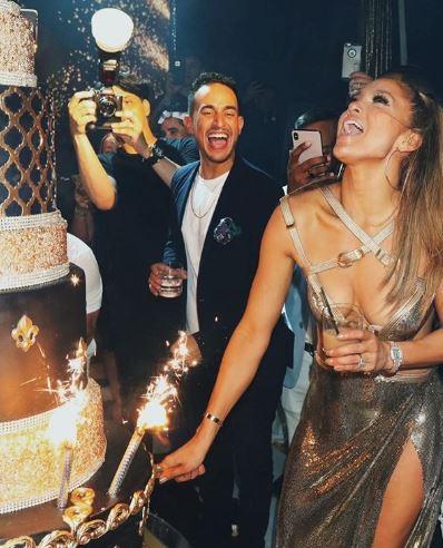 Il party extra lusso di J.Lo per salutare i 50 anni