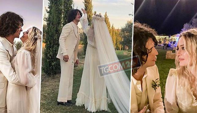 """Carolina Crescentini subito dopo le nozze con Motta: """"E  stato proprio bello"""""""