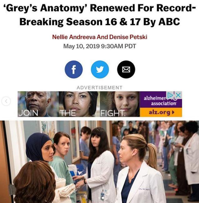 Grey s Anatomy, la saga di Meredith Grey continua