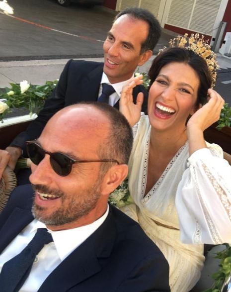 Giulia Bevilacqua si è sposata: nozze a Positano con il suo Nicola