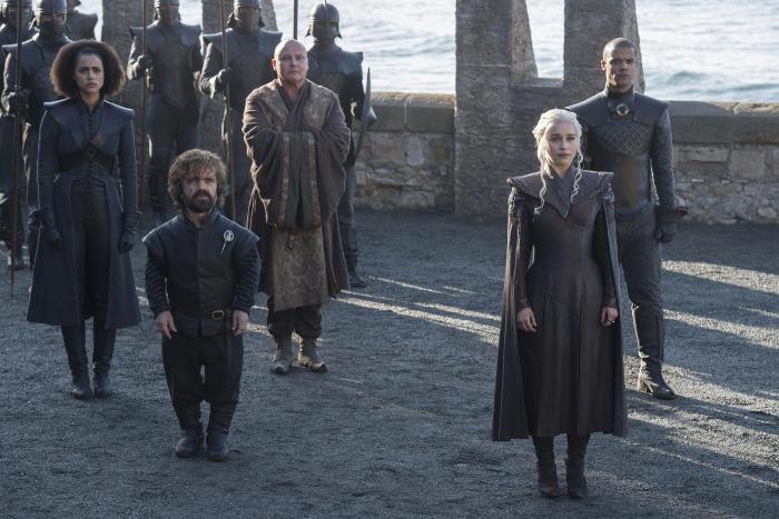 Tutti i protagonisti della settimana stagione di  Game of Thrones