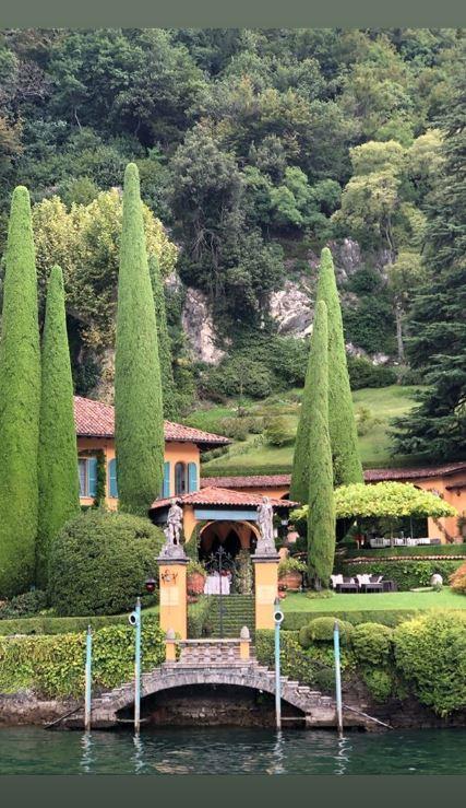 Wanda provoca e Icardi si rilassa sul lago di Como