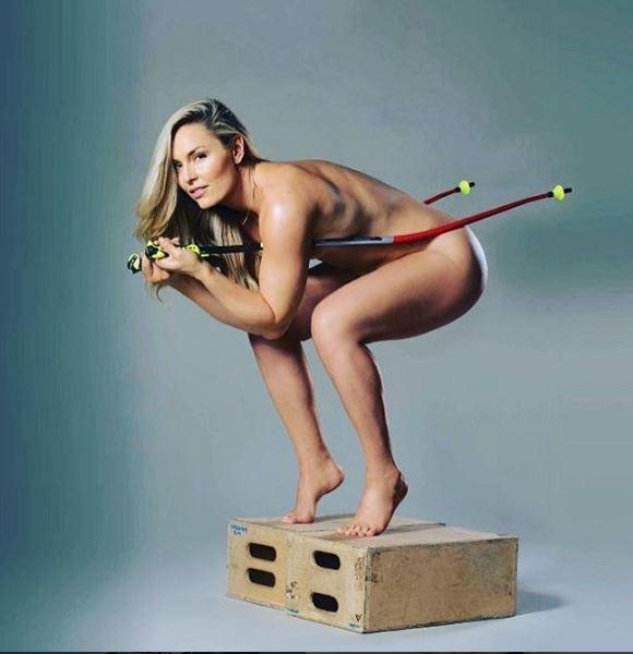 Lindsey Vonn, nuda per il suo nuovo libro