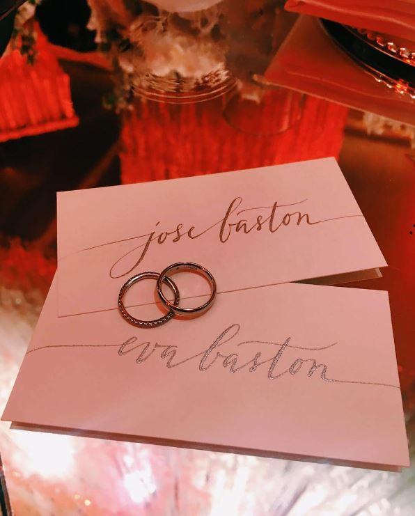 Il matrimonio di Eva Longoria su Instagram