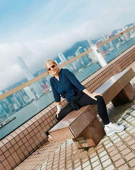 Heather Parisi che vita a Hong Kong