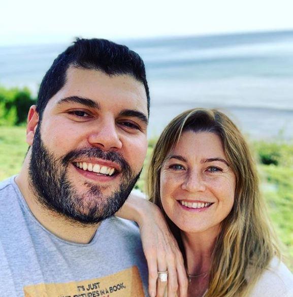 Ellen Pompeo e Salvatore Esposito, due napoletani a Malibù