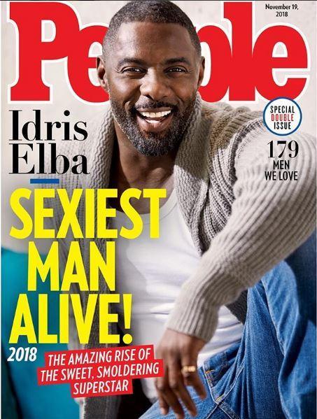 Idris Elba è  l uomo più sexy del mondo  secondo People