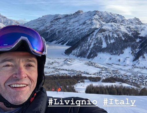 Hugh Jackman, vacanze in Italia