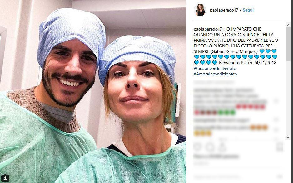 Paola Perego è diventata nonna:  Benvenuto Pietro