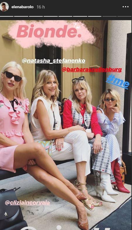 Traffico di vip alla settimana della moda milanese
