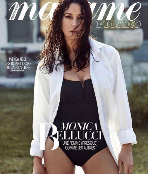 Monica Bellucci sexy in costume a 55 anni
