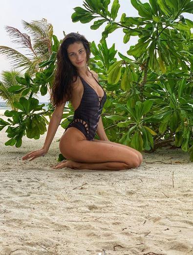 Marica Pellegrinelli, costumi bollenti alle Maldive