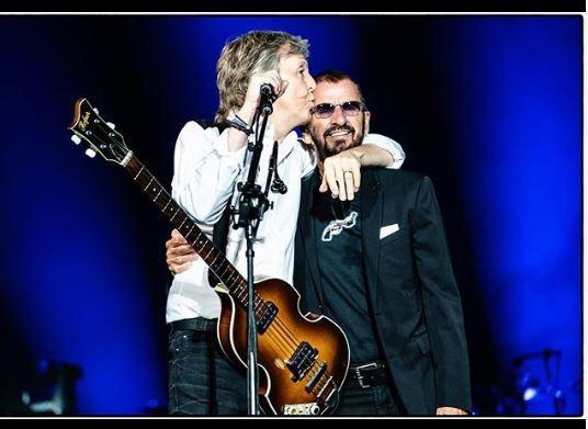 Paul McCartney e Ringo Starr riuniti a Los Angeles