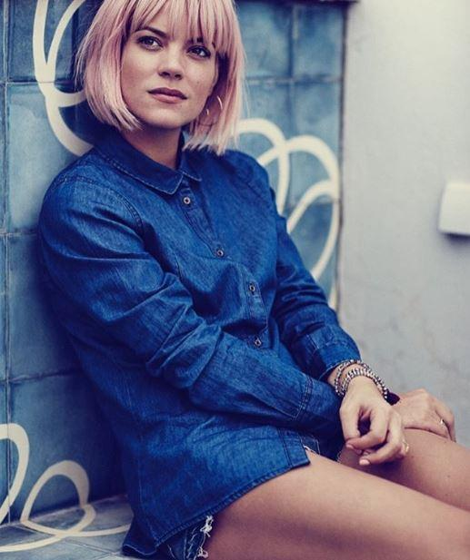 Lily Allen, gli scatti social della cantante britannica