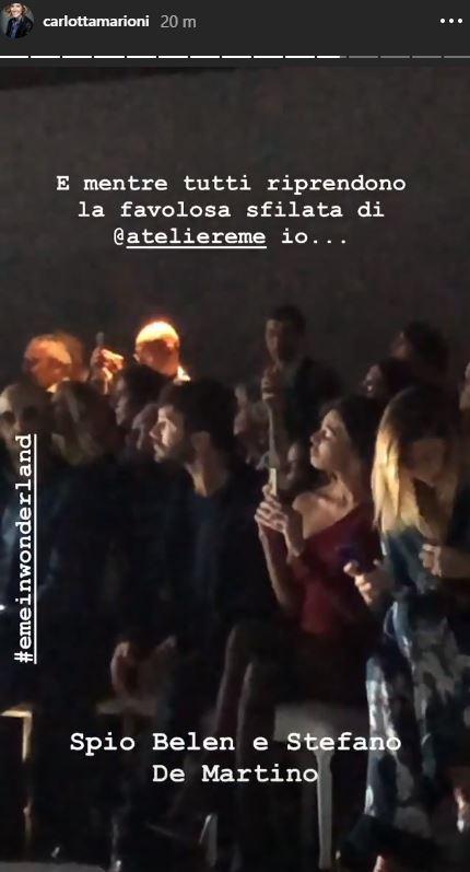 """Belen e Stefano De Martino insieme a """"scegliere"""" l abito da sposa"""