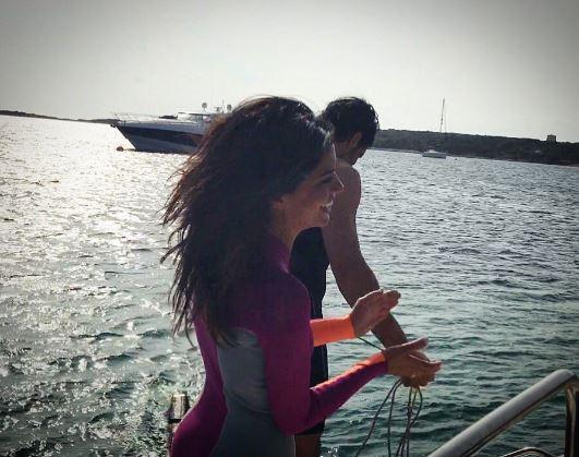 Laura Torrisi, spiaggia infuocata d amore con Luca Betti