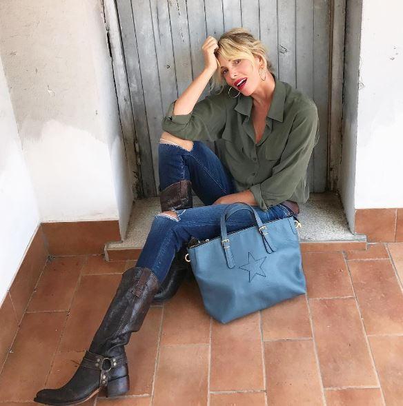 Alessia Marcuzzi casalinga a Roma