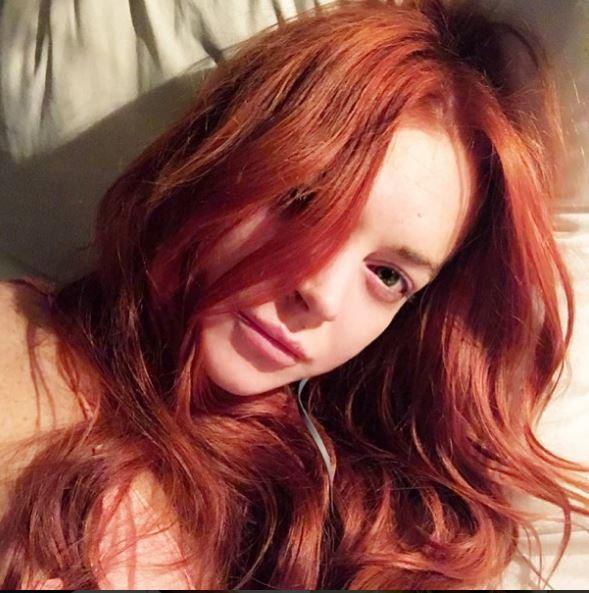 Lindsay Lohan, svolta acqua e sapone sui social