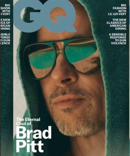 Brad Pitt, il fascinoso divo sulla cover di GQ