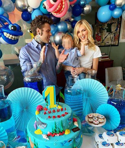 Chiara Ferragni e Fedez festeggiano il loro bambino: buon compleanno Leone