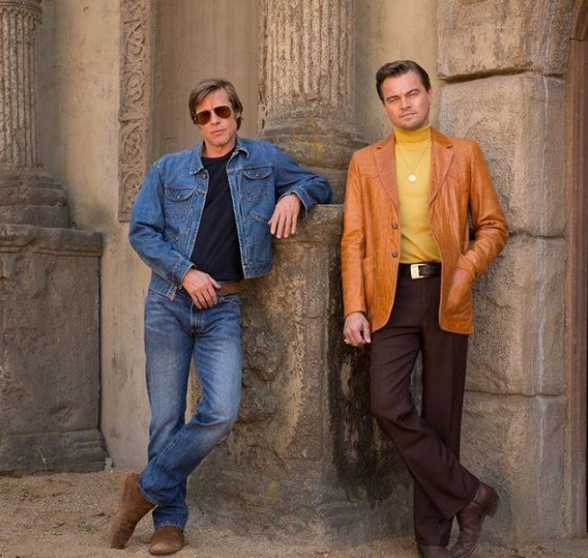 Leonardo DiCaprio e Brad Pitt: la prima foto sul set di Tarantino