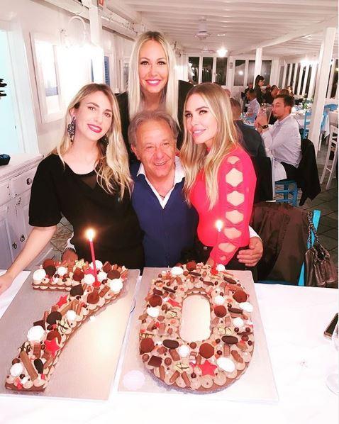 Ilary Blasi in festa per il papà: ecco il compleanno