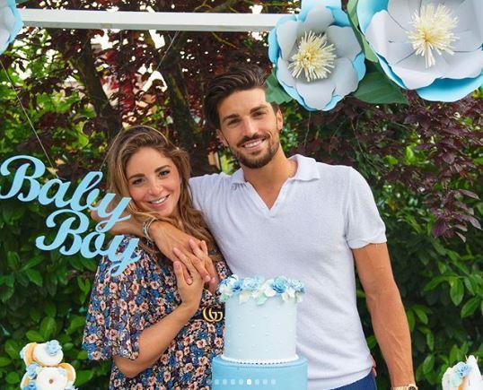 Baby shower per la moglie di Mariano Di Vaio:  It s a boy