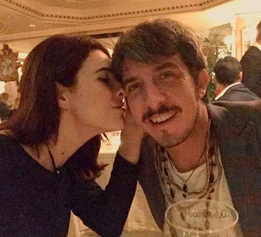 Paolo Ruffini e Diana...  imbufalita  a Milano