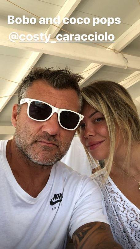 Costanza Caracciolo e Christian Vieri, dediche social per la nascita di Stella