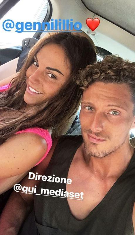 Francesca De Andrè e Gennaro Lillo: amore fuori dalla Casa