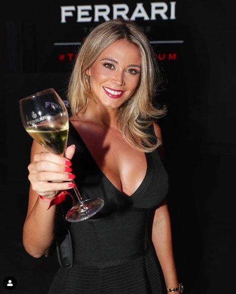 Per Diletta Leotta cene da single a Milano