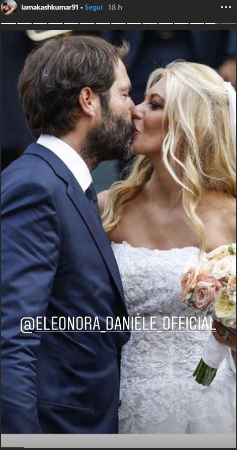 Eleonora Daniele si è sposata: guarda l album delle nozze