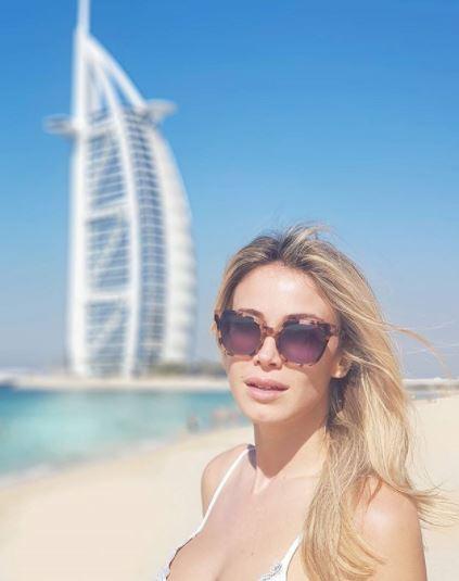 Diletta Leotta, night e day a Dubai