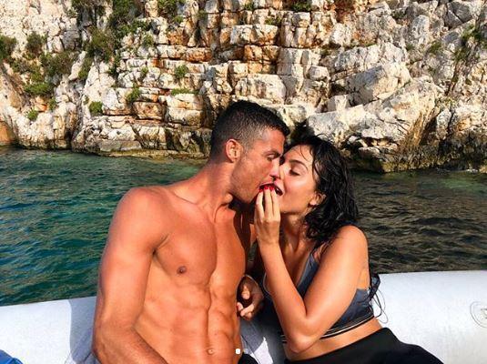 Cristiano Ronaldo, nozze italiane con Georgina