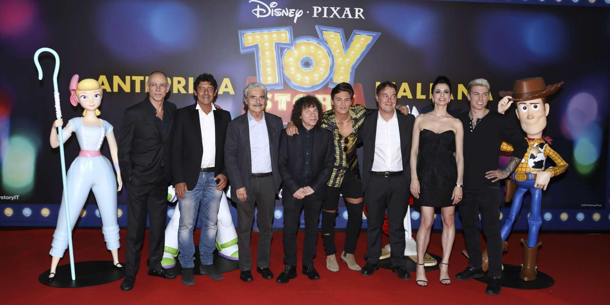 Toy Story 4 , da Luca Laurenti a Corrado Guzzanti: le voci italiane sul red carpet per l anteprima a Roma