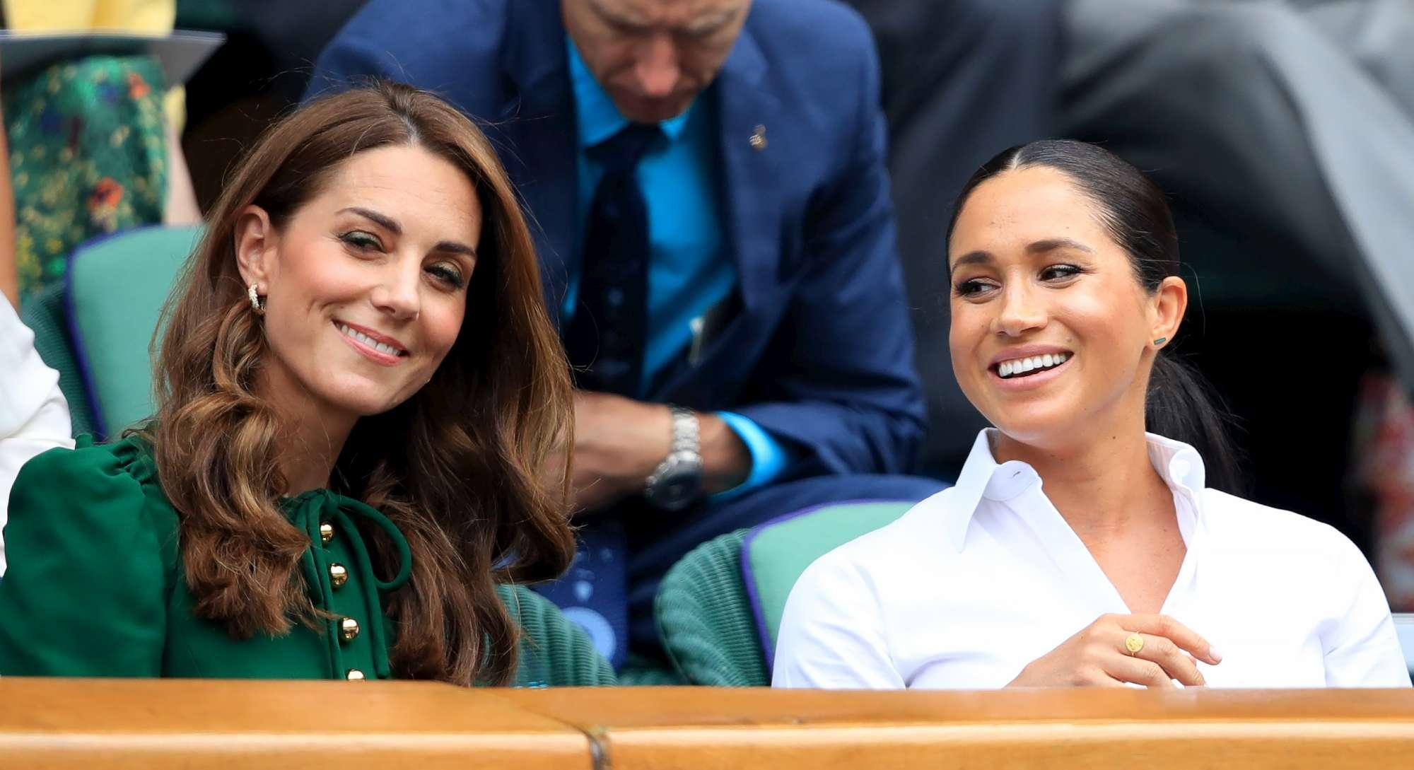 Kate e Meghan, chiacchiere tra cognate alla partita di tennis