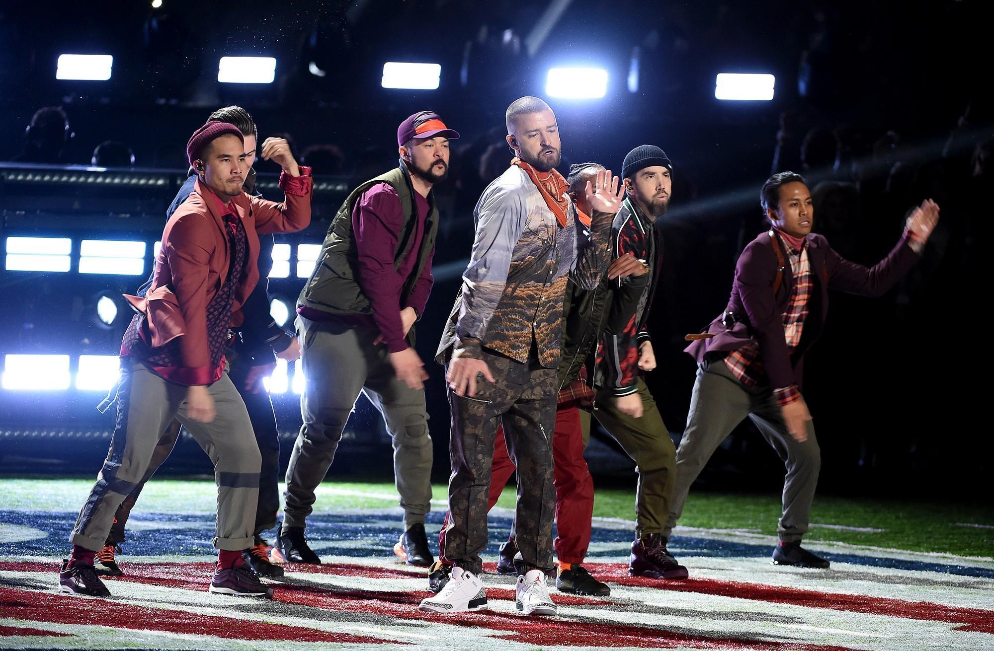 Justin Timberlake, le foto dello show al Super Bowl