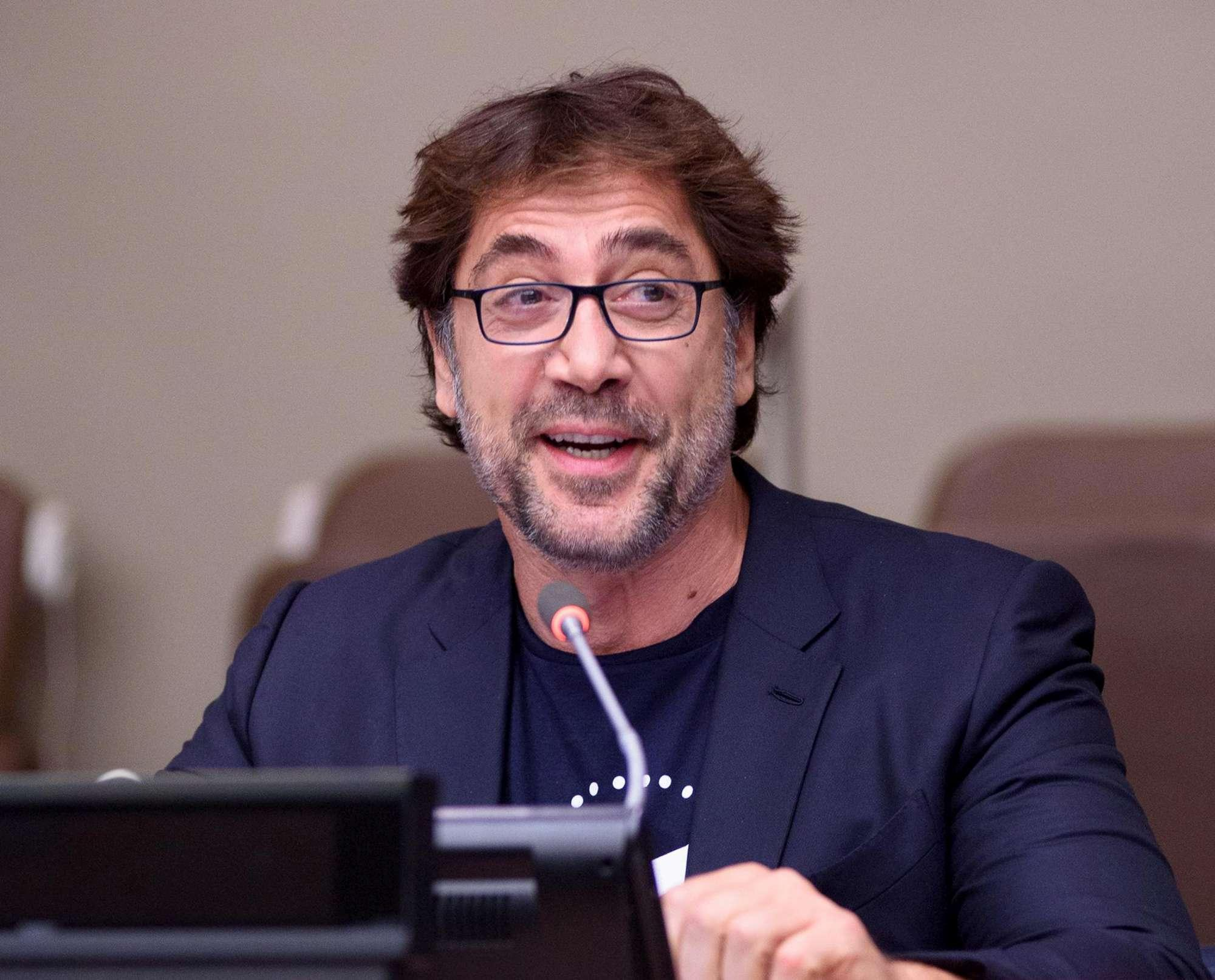Javier Bardem all'Onu: