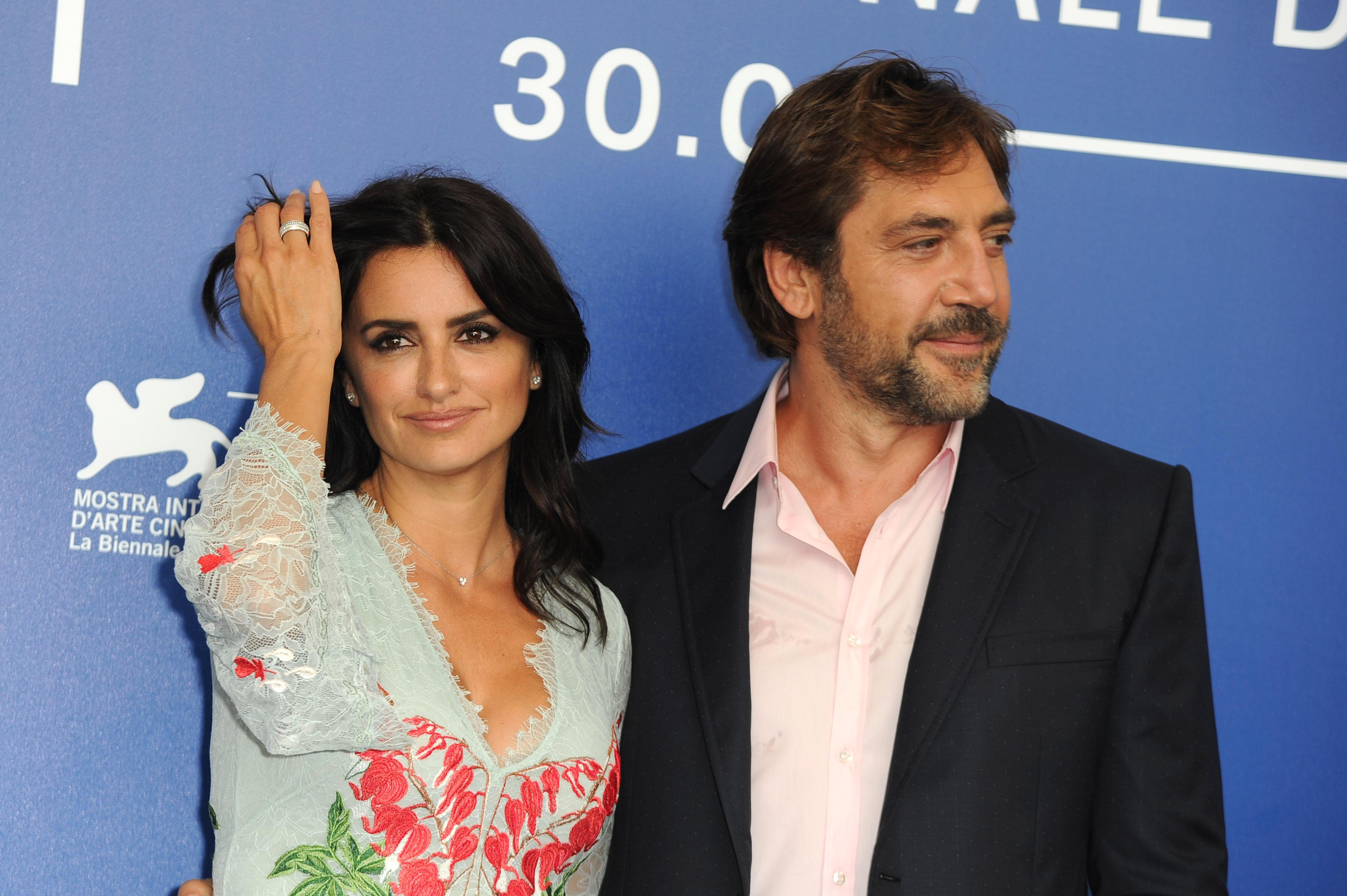 A Venezia la coppia Bardem-Cruz al photocall di  Loving Pablo