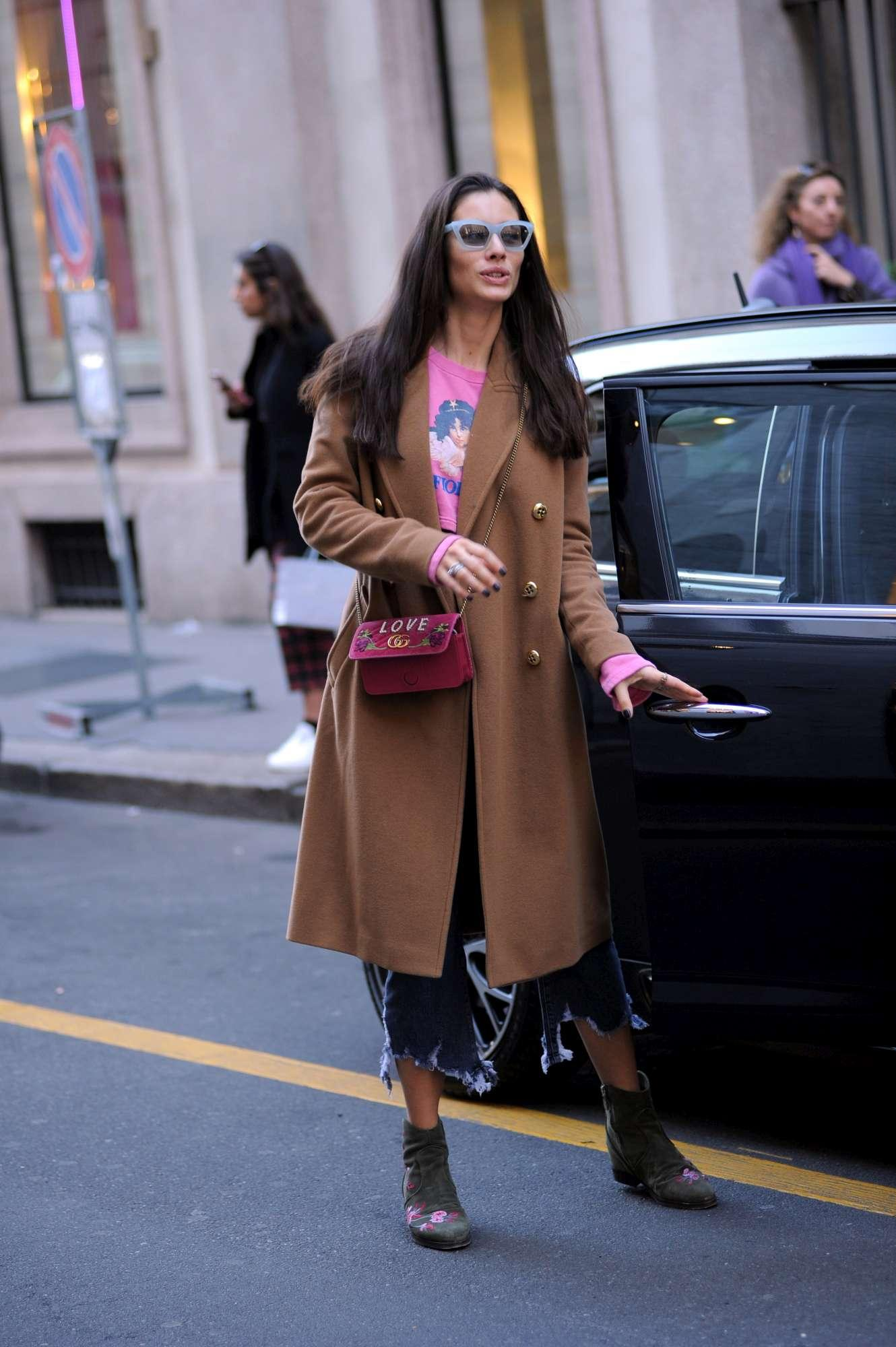 Marica Pellegrinelli, shopping di corsa pensando a Eros