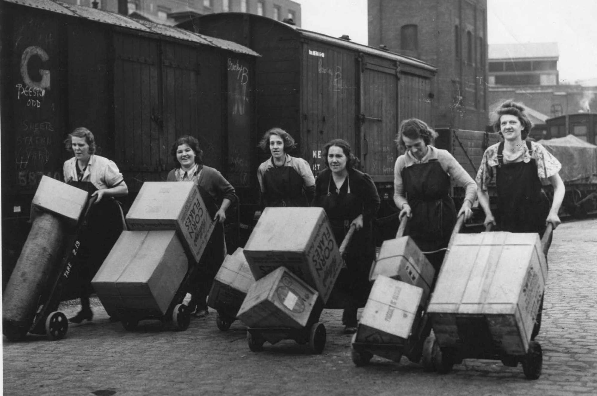 Seconda Guerra Mondiale, le  wonder women  che hanno salvato le ferrovie britanniche