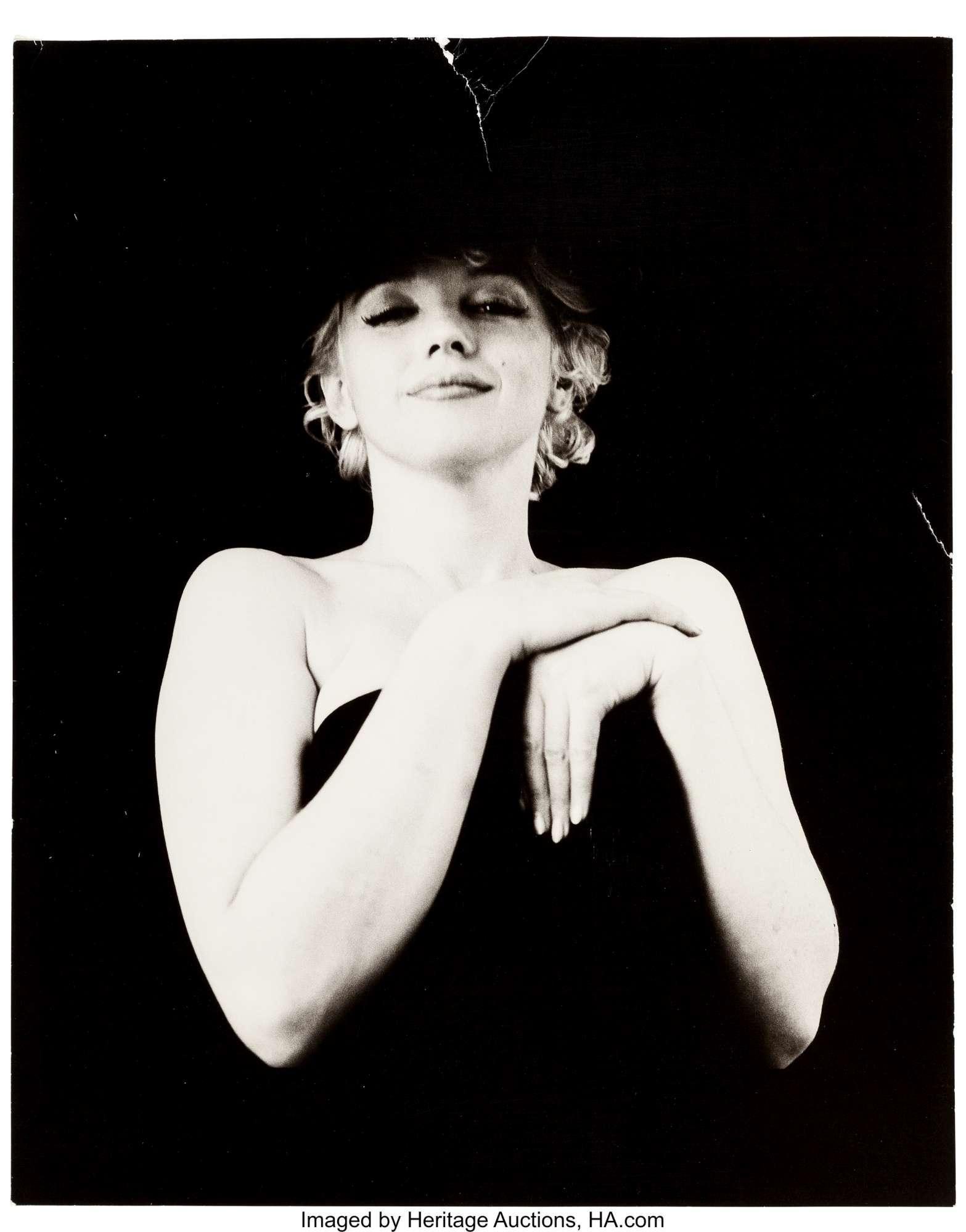 Marilyn Monroe, all asta i ritratti inediti della diva