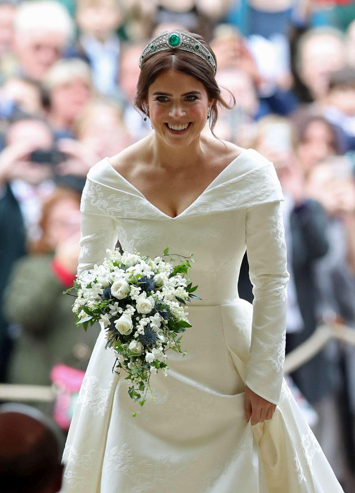 Eugenia di York, l arrivo della sposa