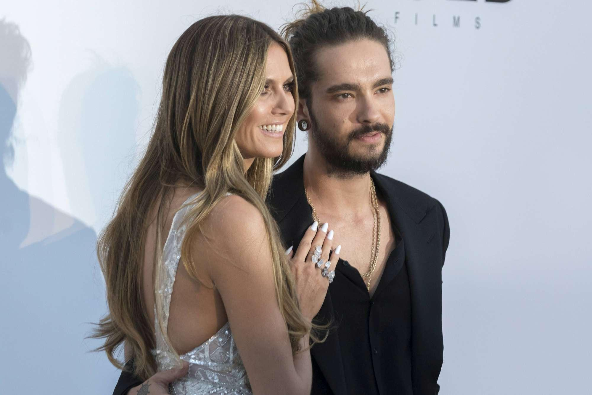 Heidi Klum, primo red carpet con il toy boy Tom Kaulitz