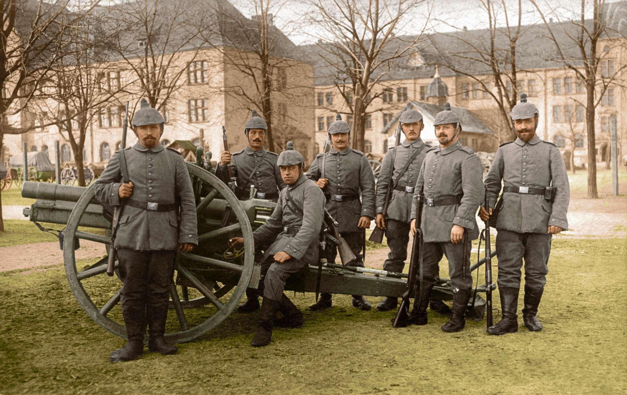 Le eccezionali foto a colori della Grande Guerra